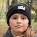 Портрет девушки в черной кепке осенью в парке - Украина, Одесса, 17,10,2019