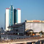 Административное здание порта в город - Украина, Одесса, 17,10,2019