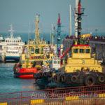 Два портовых буксира на причал в порту - Украина, Одесса, 17,10,2019-142