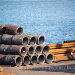 Провода моли хранящиеся в порт для отправки на корабле - Украина, Одесса, 09,11,2019